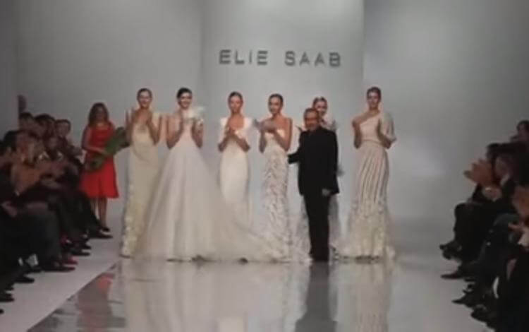 Video of Elie Saab in Kiev. After party