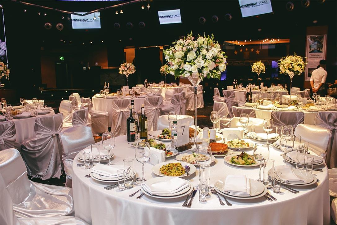 Организация свадебного банкета: выбор зала